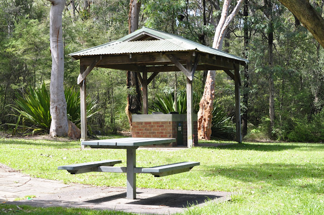 Picnic area Somersby Falls