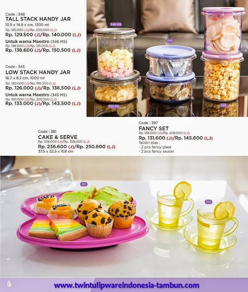 Promo Diskon 30% Tulipware | Januari - Februari 2015