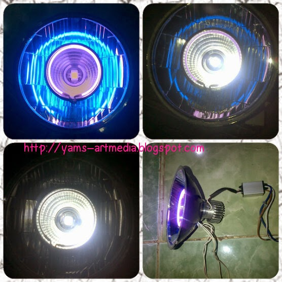 Luxeon 15/27w di head lamp tiger
