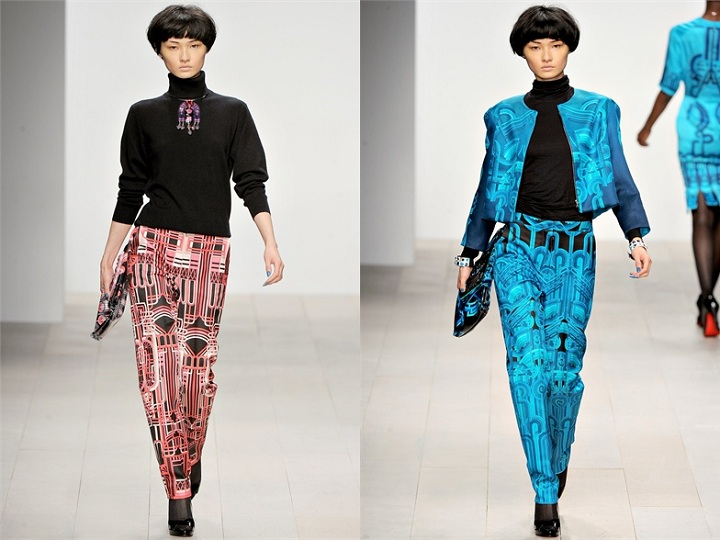 Asian models blog london fashion week fall 2012 tuesday for Koch xiao wang