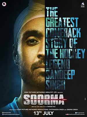 Soorma 2018 Bollywood 300MB Movie HDRip 480p