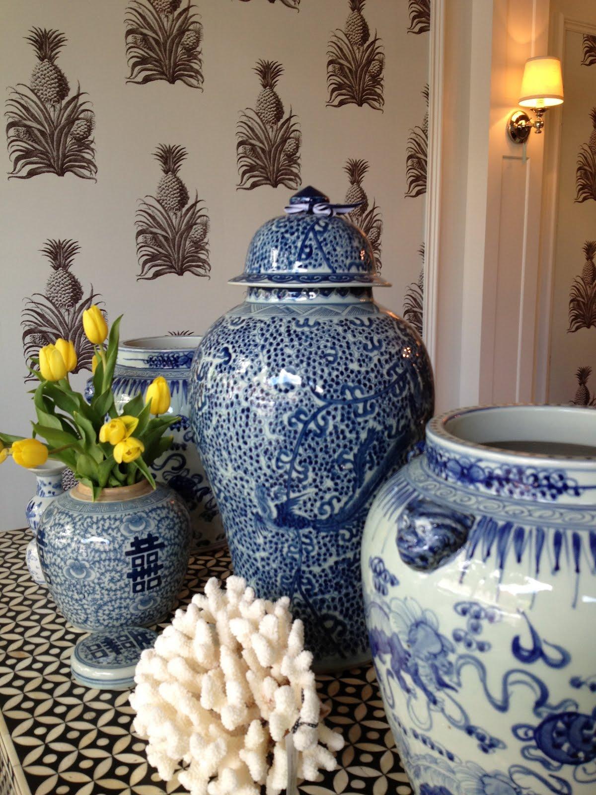 oliveaux classic ginger jars. Black Bedroom Furniture Sets. Home Design Ideas