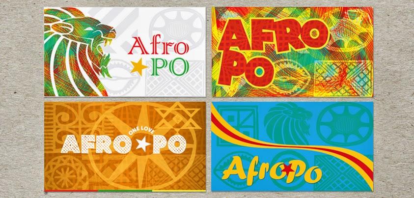 סטודיו אמפולסיבה- עיצוב כרטיס ביקור ללהקת אפרו- פה :: הגשת סקיצות ללקוח