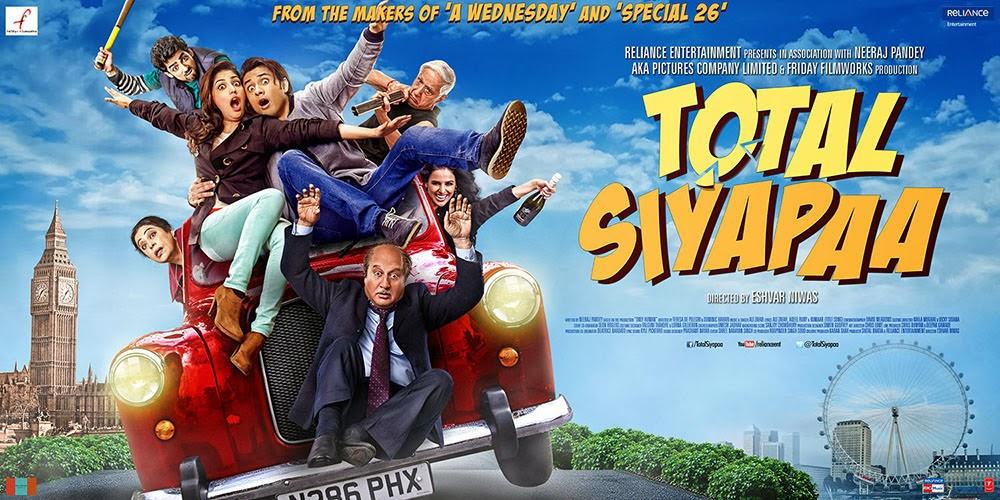 Total Siyapaa (2014) Ali Zafar and Yami Gautam, movie review, songs and show timings.