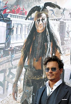 Entertainment, News, Gossip, Celebrities, Hollywood, Produser, Yakin, Kemampuan, Johnny Deep, Dalam, 'The Lone Ranger'