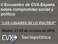 II Encuentro de CVX-E sobre compromiso social y político