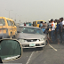 Photo : Motor Crash On Third Mainland Bridge, Lagos.