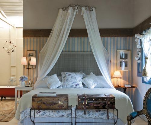 decoracao de interiores em estilo provencal:Quarto de casal estilo provençal – Estilo em Capítulos