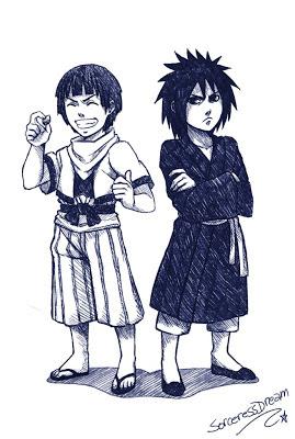 hashirama senju dan uchiha madara kecil