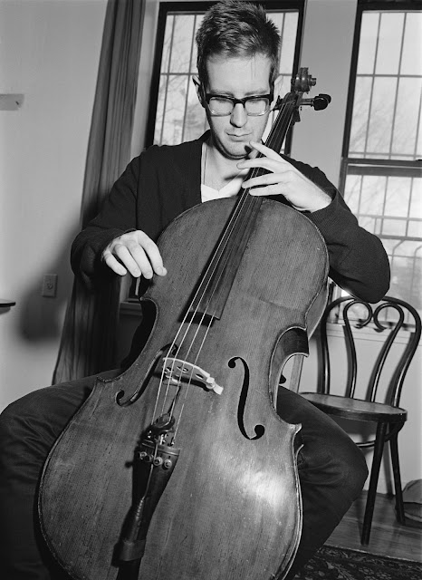 Real Film, Medium Format Cello Portrait