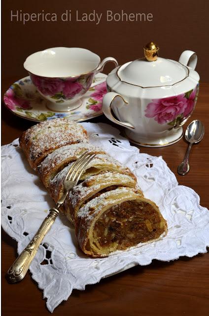 hiperica_lady_boheme_blog_di_cucina_ricette_gustose_facili_veloci_dolci_strudel_di_mele_1