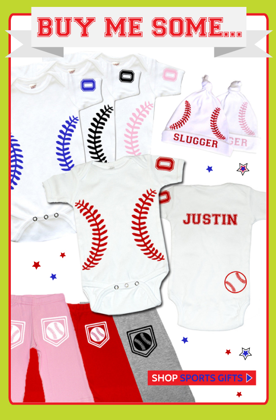 Baseball Gifts for Babies and Kids