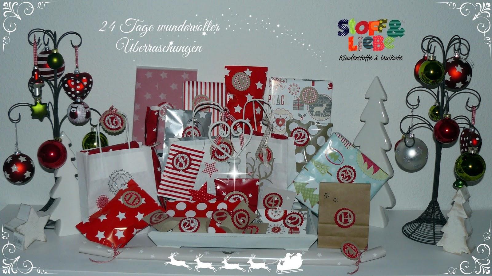 Und Wir Haben Uns Zudem Gaaaanz Viel Mühe Beim Verpacken Gemacht, So Dass  Euer Adventskalender Eine Wunderschöne Dekoration Ergibt!