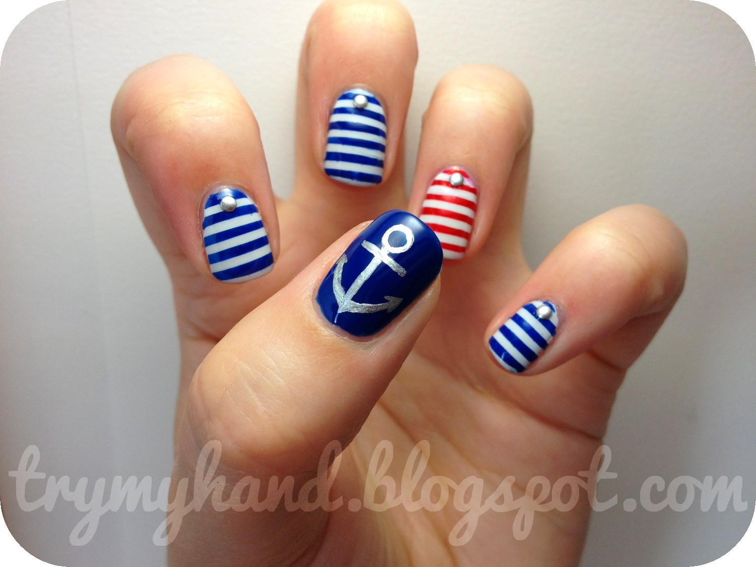 Try my hand alphabet nail art challenge n for nautical alphabet nail art challenge n for nautical prinsesfo Gallery