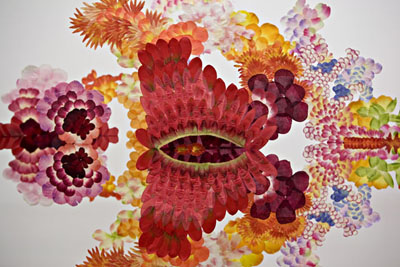 arte floral _ street color style