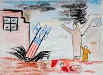 GAZA VISTA POR SUS NIÑOS. DIBUJOS CENSURADOS EN EEUU.