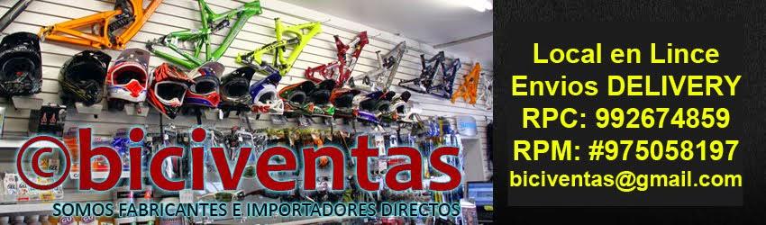 ©BICIVENTAS - Tienda online de bicicletas en Lima PERU - Venta BMX, Montañeras, repuestos