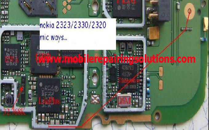 7210c mic solution. Nokia 2330 Mic Problem