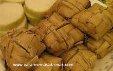 resep praktis dan mudah membuat (memasak) makanan khas idul fitri ketupat lebaran spesial enak, gurih, lezat