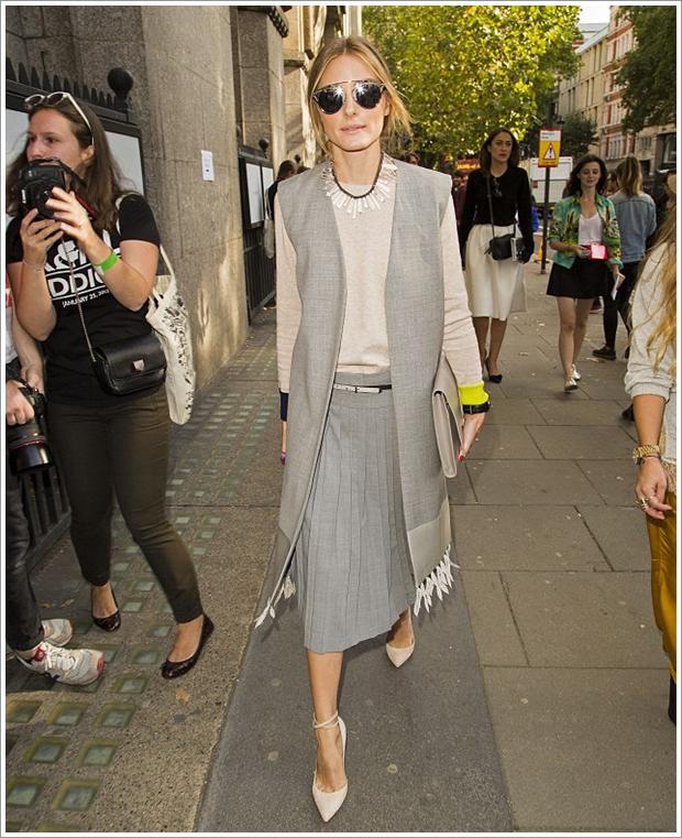 The Olivia Palermo Lookbook London Fashion Week Ss15 Olivia Palermo At Whistles