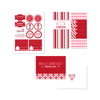 Stampin' Up! Sweet Peppermint Ensemble Digital Kit
