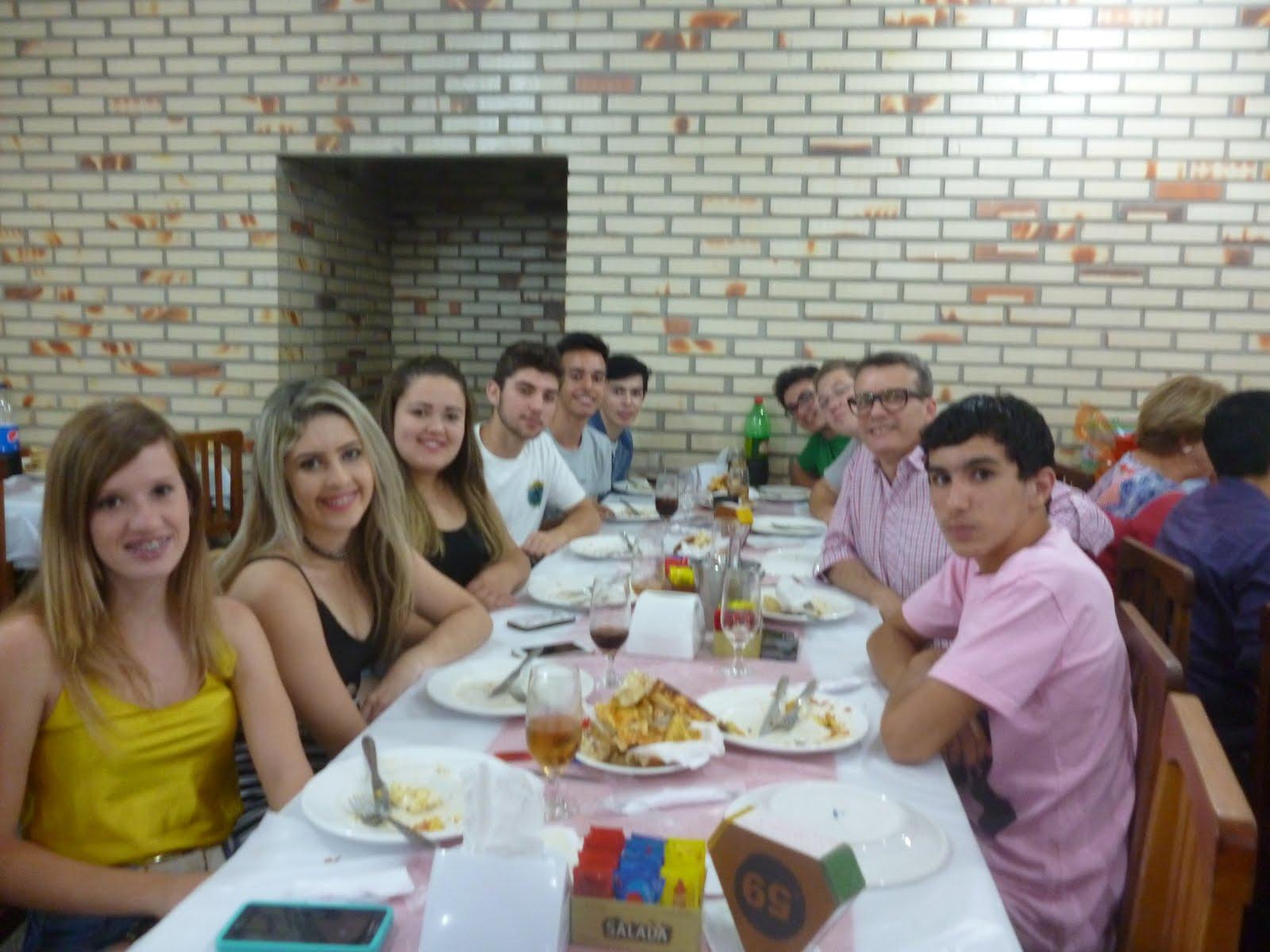 Comemoração do Hepta no Malagueta
