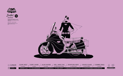 Batman '66 Batgirl Screen Print by Gianmarco Magnani & Mondo