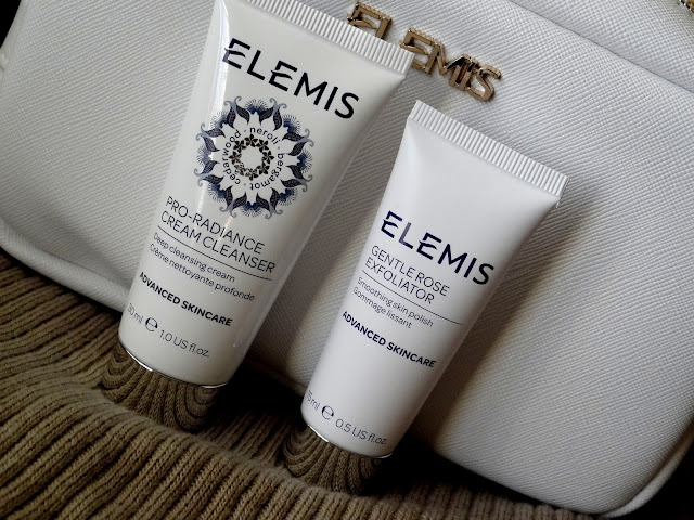 Elemis Voyage Of Discovery Set | Pro Radiance Cream Cleanser and Gentle Rose Exfoliator