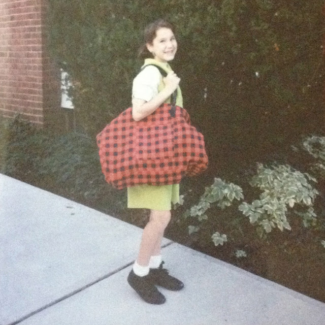 jumpsuit, romper, chartreuse, lime green, first day of school, back to school, Jamie Allison Sanders, Throwback Thursday, #TBT, junior high school, Memorial Junior High School, picture day