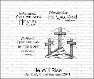 Our Daily Bread Designs, He Will Rise