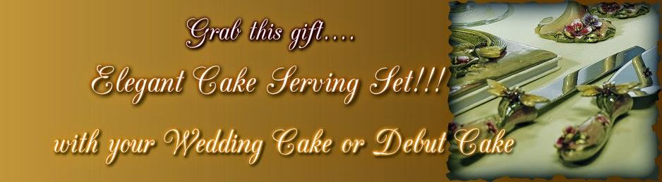 Gold Ribbon Cake