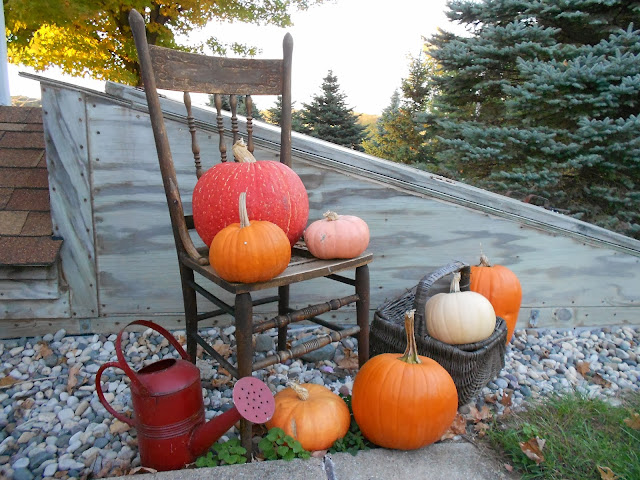 pumpkins, autumn, decor