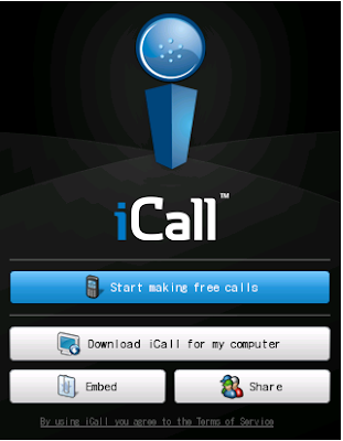 iCall - Make Free Calls From iPhone