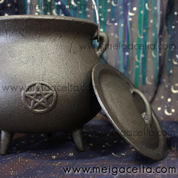 caldero wicca de hierro fundido comprar Meiga Celta Tienda Esoterica