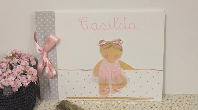 album-fotos-infantil-personalizado-ballet