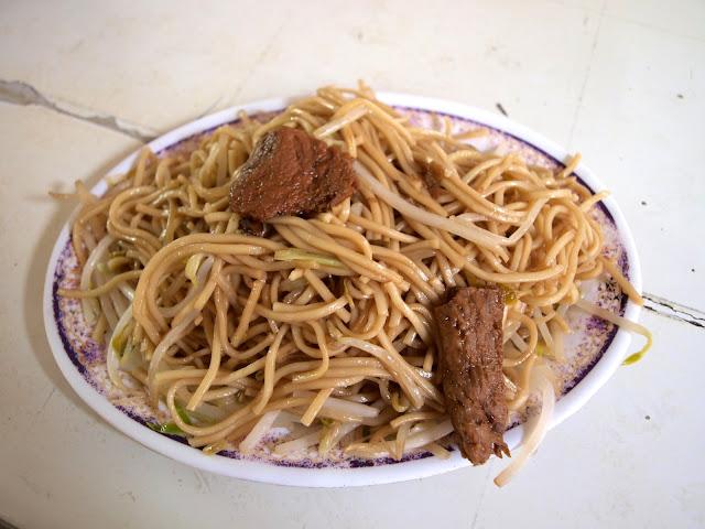 台南西港蓮華素食(菜粽) 炒麵