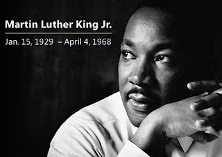 Martin Luther King Jr (15 de janeiro de 1929 - 04 de abril de 1968)