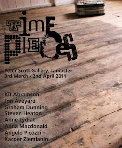 Time Pieces; Peter Scott Gallery, Lancaster 2011