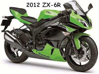 2012 Kawasaki ninja zx-6r
