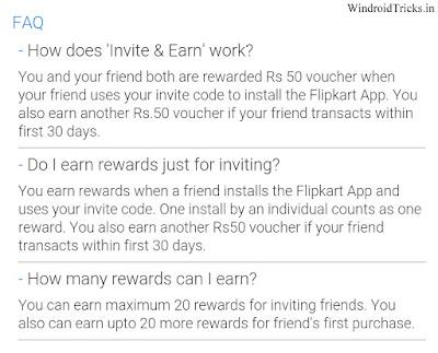 free flipkart voucher faq