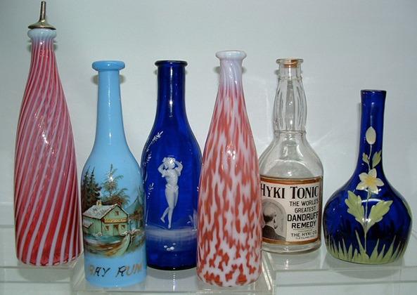 Antique Barber Bottles1