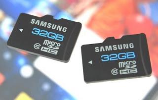 tarjeta de memoria samsung smartphone