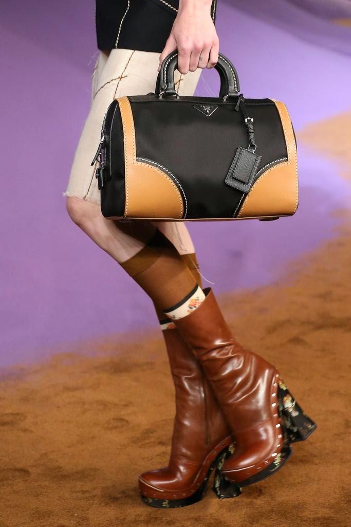 #MFW: Prada Spring/Summer 15 Bags Report