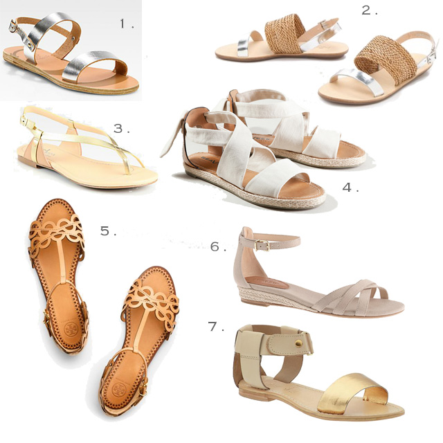 Sandals from Ancient Greek, Loeffler Randall, SeaVees, Sol Sana