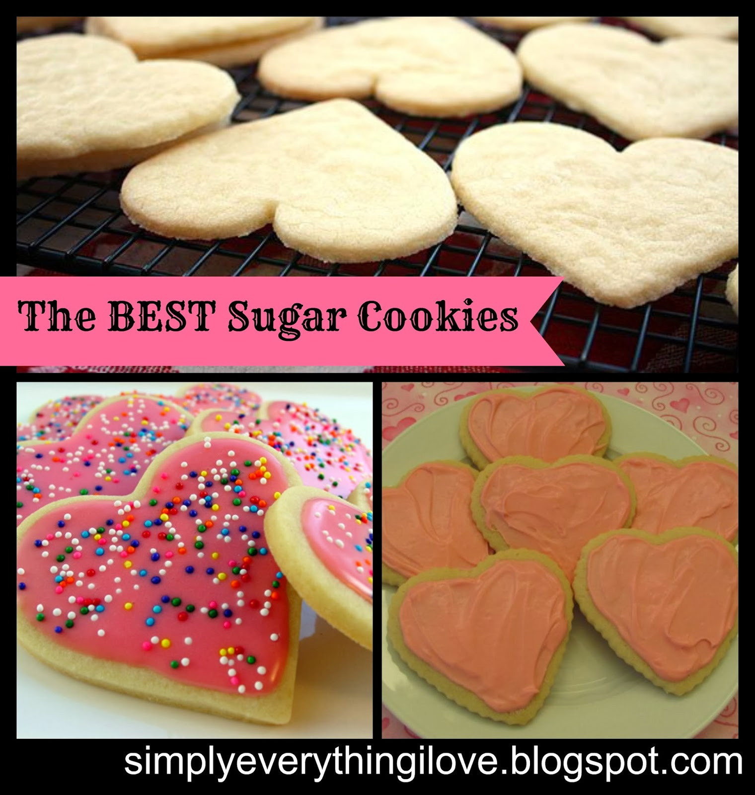 Simply Everthing I Love...: The BEST Sugar Cookies!!