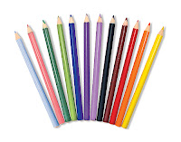 Melissa and Doug Triangular Colored Pencils