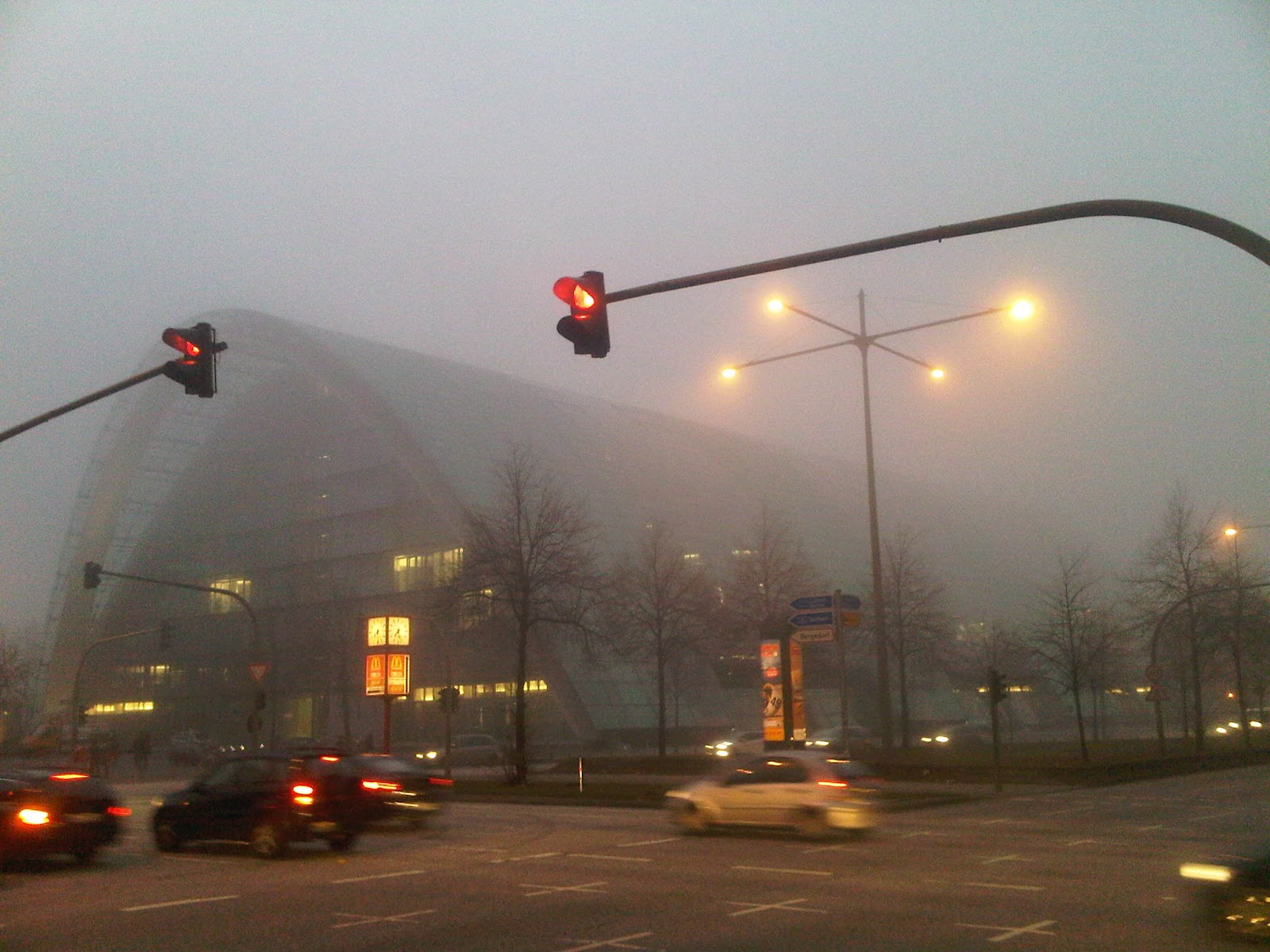 Berliner Bogen im Nebel - in the fog