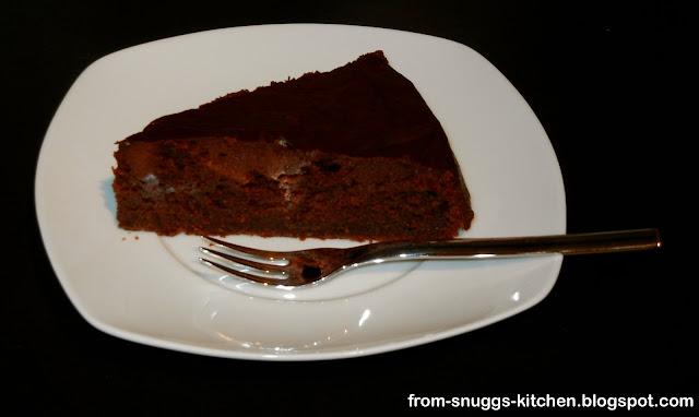 Tonkabohnen-Schokoladenkuchen