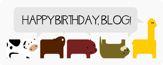Happy Birthday Blog, Cute Animals