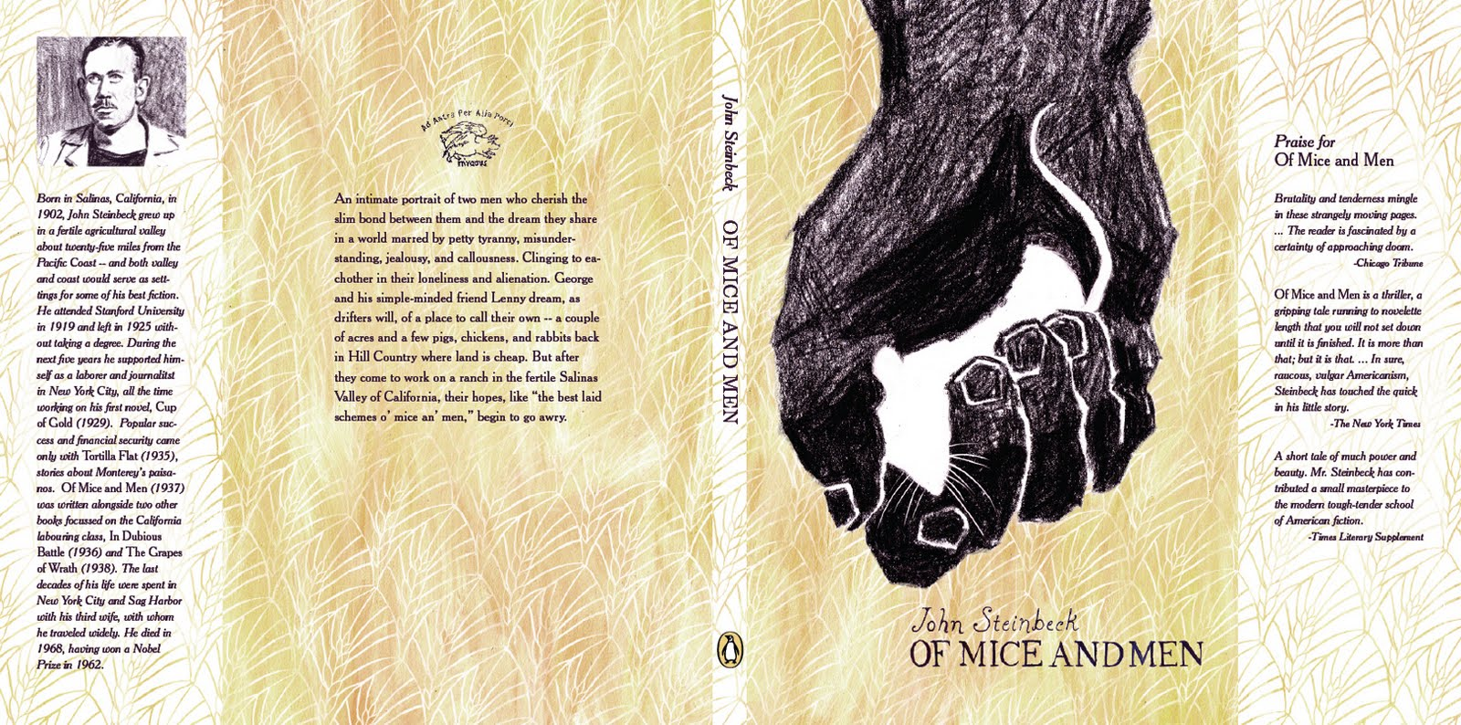 loneliness and alienation in of mice and men by john steinbeck About of mice and men a controversial tale of friendship and tragedy during the great depression over seventy-five years since its first publication, steinbeck's tale of commitment, loneliness, hope, and loss remains one of.